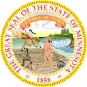 Outline of Minnesota - Image: Minnesota state seal