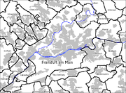Frankfurt as the centre of the Rhine Main Region