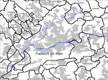 FRA is located in Frankfurt am Main