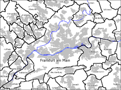 Frankfurt (Main) Ost is located in Frankfurt am Main