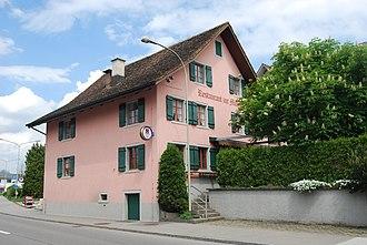 Mönchaltorf - Image: Moenchaltorf restoracio Muehle 075