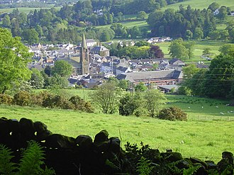 Moffat - Image: Moffat from the hills