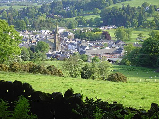 Moffat from the hills