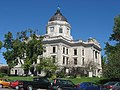 Monroe County Courthouse in Bloomington from west-southwest.jpg