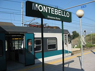 Rome Metro - Montebello station of the Roma-Civitacastellana-Viterbo line