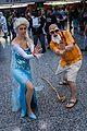 Montreal Comiccon 2016 - Elsa and Master Roshi (28246685626).jpg
