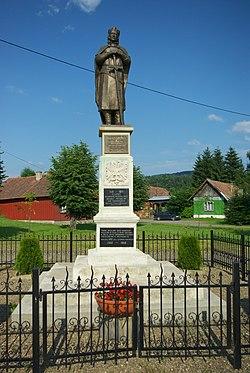 Monument to Wladislaus II in Mrzygłód 2.jpg