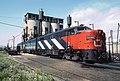 More CN Power at Spadina Yard and a Garbage Can -- 6 Photos (34833143345).jpg