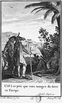 Candide und der Sklave (Quelle: Wikimedia)