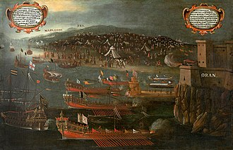 Sieges of Oran and Mers El Kébir - Image: Moriscos Port d'Orán. Vicente Mestre