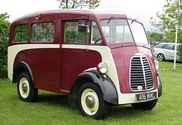Morris J-Type van with side windows ca 1951 Battlesbridge.JPG