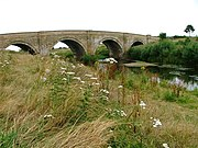 Morton Bridge, A684 Crossing the River Swale