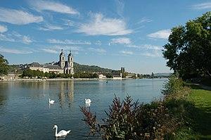 La Moselle à Pont-à-Mousson
