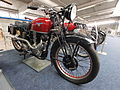 Motor-Sport-Museum am Hockenheimring, Red CM 500 with OHV engine, pic3.JPG
