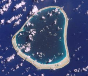 Motutunga - NASA picture of Motutunga Atoll.