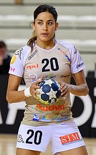 Mouna Chebbah Tunisian handball player