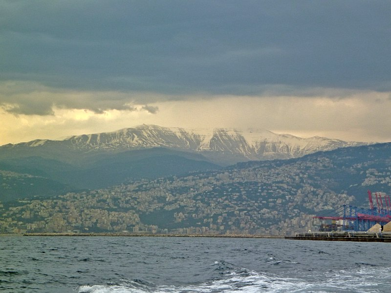 File:Mount Lebanon from Saint George Bay.JPG