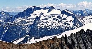 Mount Logan from Sahale Mountain