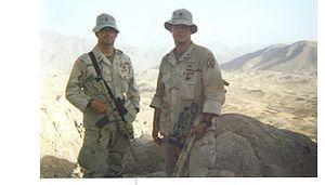 Operation Mountain Viper - U.S. Sniper Team in Operation Mountain Viper.