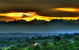 Cordillera Occidental (Colombia) - Munchique's Mountain