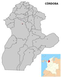Municipios del Departamento de Córdoba