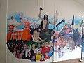 Mural en Casa cural de Parroquia de San Juan Bautista Coscomatepec, Veracruz 04.jpg