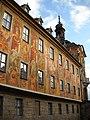 Murals on the Rathaus in Bamberg.JPG