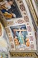 Museo di Santa Giulia Coro delle Monache affreschi simbolo Passione Paolo da Caylina Brescia.jpg