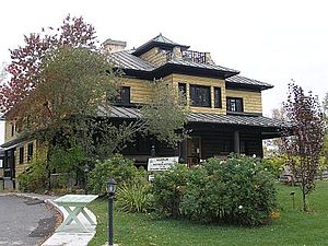 Harry Oakes - Oakes' former home in Kirkland Lake