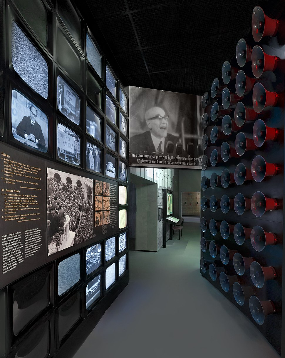 Museum of the History of Polish Jews in Warsaw Main exhibition Postwar 02