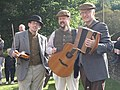 Musical trio, Beamish Museum, 6 October 2012.jpg