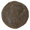 Mynt, så kallad paduan, förfalskad på 1500-talet - Skoklosters slott - 100241.tif