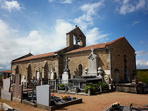 Néronde - The chapel in Néronde