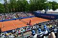 Nürnberger Versicherungscup 2014 - Centercourt des 1.FCN Tennis am Valznerweiher von Nord-Westen 04.JPG