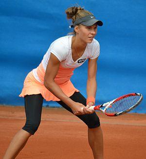 Katarzyna Piter - Image: Nürnberger Versicherungscup 2014 Qualifikation 1.Runde Katarzyna Piter 35 cropped 01