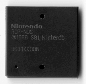 Reality Coprocessor - Casing of the Reality Coprocessor chip