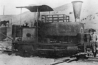 Namaqualand 0-4-2ST Pioneer - Namaqua Copper Company 0-4-2ST Pioneer, c. 1905