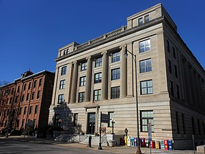 Government of North Carolina - The Department of Agriculture Building in Raleigh
