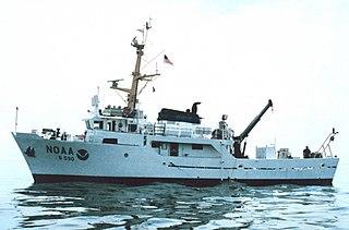 NOAAS <i>Rude</i> (S 590) Research ship