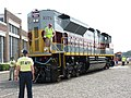 NS Lackawanna Heritage Unit 2012 Rear.jpg
