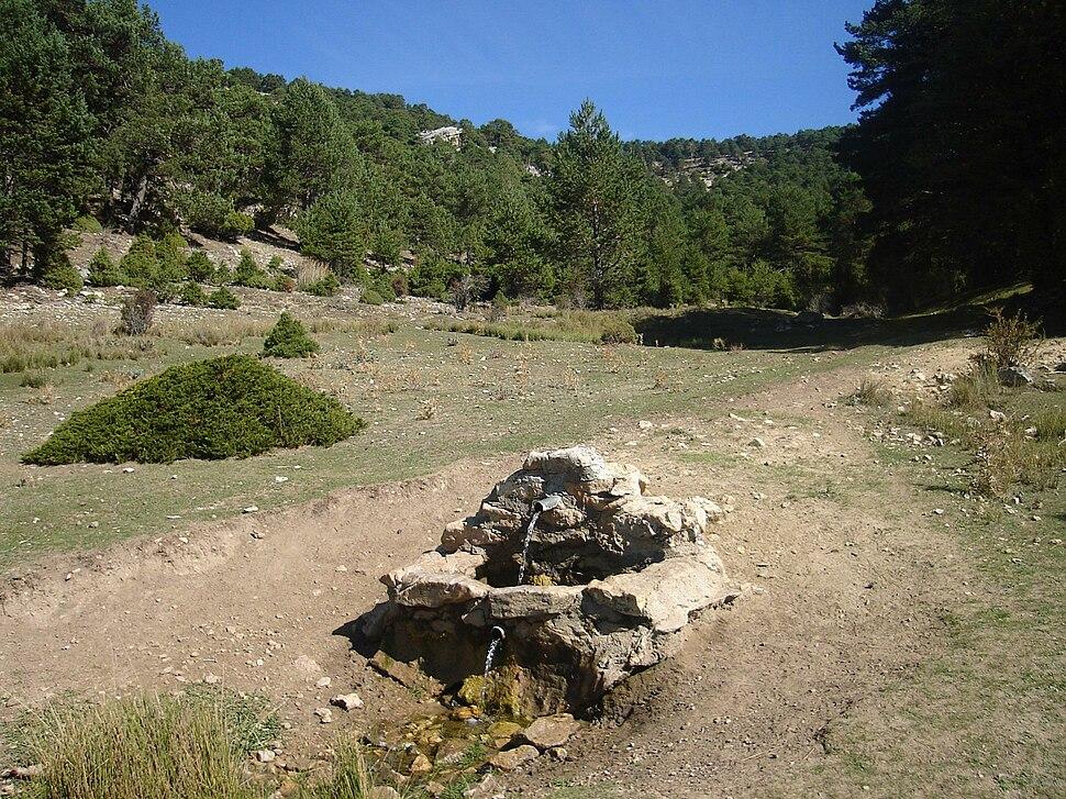 Nacimiento del rio Guadalaviar