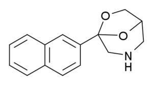 Nafoxadol - Image: Nafoxadol structure