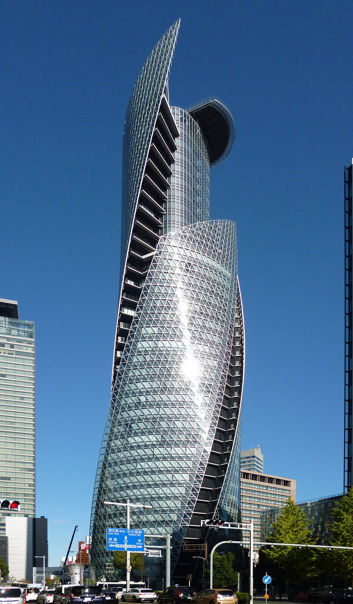 Mode Gakuen Spiral Towers Wikipedia