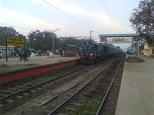 Nalhati Junction railway station - Image: Nalhati Jn Railway Station (5)