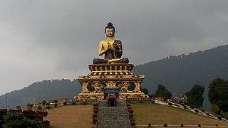 Namchi City in Sikkim, India