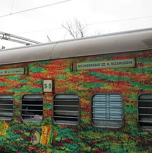 Duronto Express - Secunderabad to Hazrat Nizamuddin Duronto Express