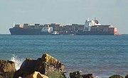 MSC Napoli beached off Branscombe