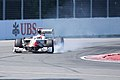 Narain Karthikeyan in a Hispania Racing car at the Canadian Grand Prix - 20110610.jpg