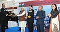 Narendra Modi presented Innovation trophies to awardees, during the 'At Home' reception, organised by the Chief of Naval Staff, Admiral R.K. Dhowan, on the occasion of Navy Day (1).jpg