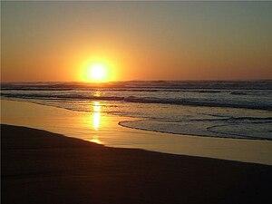 Português do Brasil: Nascer do sol em Nova Cam...